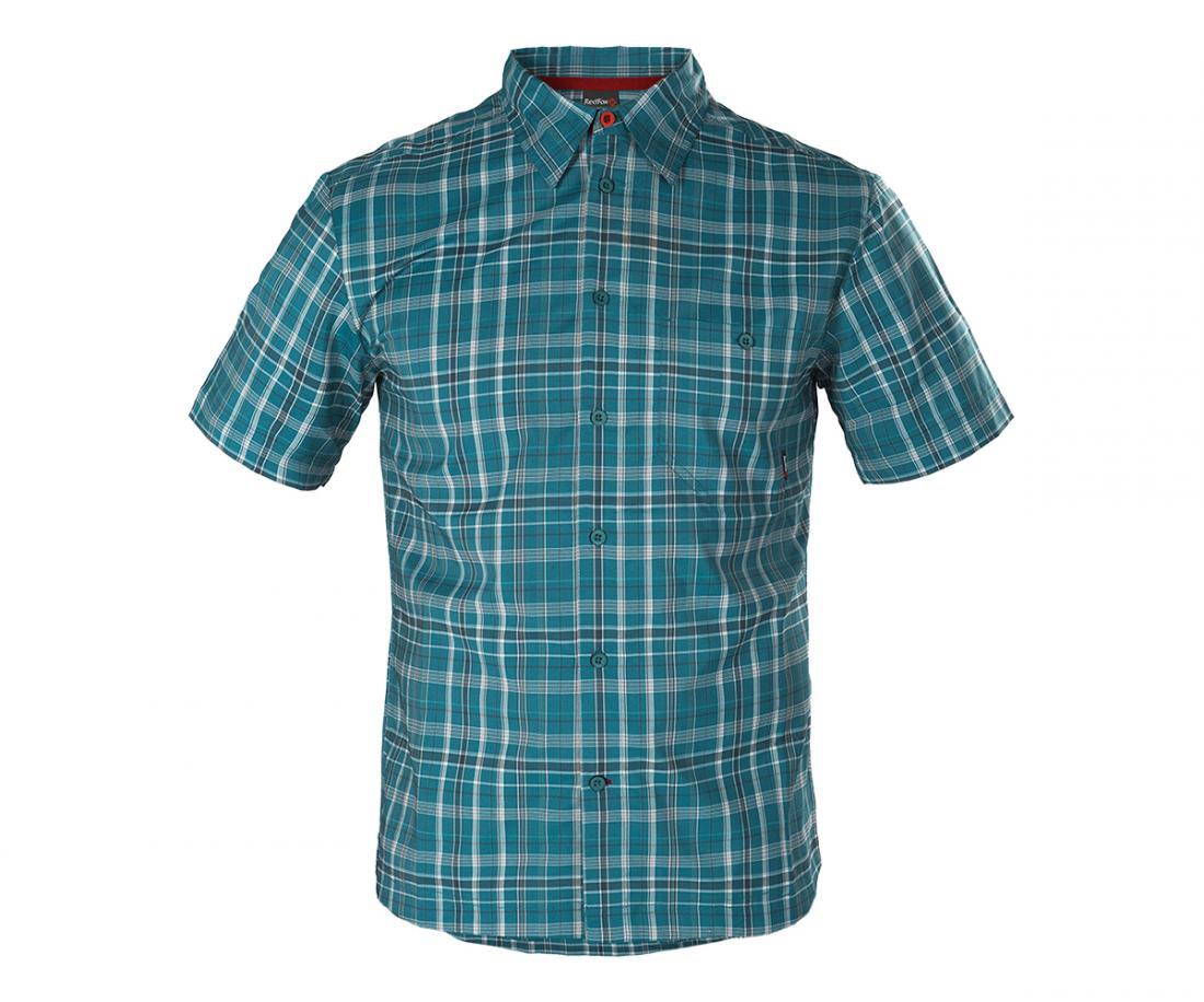 Рубашка Vermont МужскаяРубашки<br>Стильная мужская рубашка из высокотехнологичной эластичной ткани. Анатомический крой не стесняет движений. Комфортная модель со свободной посадкой прекрасно подойдет для использования в повседневной жизни и в поездках. Изделие прекрасно сочетается с бр...<br><br>Цвет: Голубой<br>Размер: 56