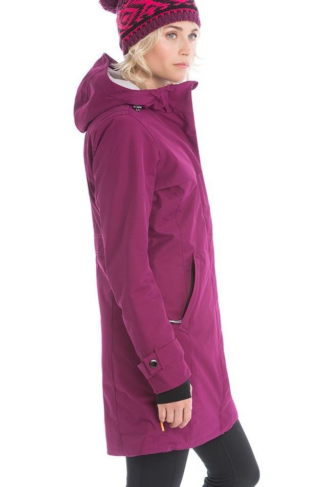 Куртка LUW0304 CLOWDY JACKETКуртки<br><br> Утепленное элегантное пальто Сlowdy подарит Вам наслаждение и комфорт в холодные демисезонные дни ранней весной или поздней осенью. Модель выполнена из влаго- и ветроустойчивого материала Polytwill, надежно защитит от ветра, дождя и снега. Эксклюзи...<br><br>Цвет: Малиновый<br>Размер: XXL
