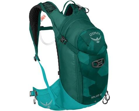 Рюкзак Salida 12Рюкзаки<br><br>Стильный и функциональный женский рюкзак Osprey Salida 12 идеально подойдет для любителей путешествий на велосипеде. Оснащен встроенным 2,5-литровым резервуаром Osprey Hydraulics™. Благодаря фиксации питьевого клапана с помощью крепления, можно пить...