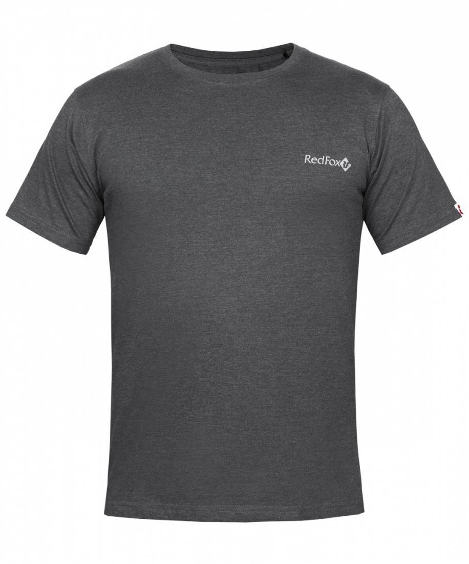 Футболка Rain T SS МужскаяФутболки, поло<br>Характеристики футболки Rain T SS<br><br><br><br>прямой силуэт<br>классический вырез горловины<br>короткий рукав<br>принт на полочке и спинке<br>Основное назначение: повседневное городское использование, пу...<br><br>Цвет: Темно-серый<br>Размер: S