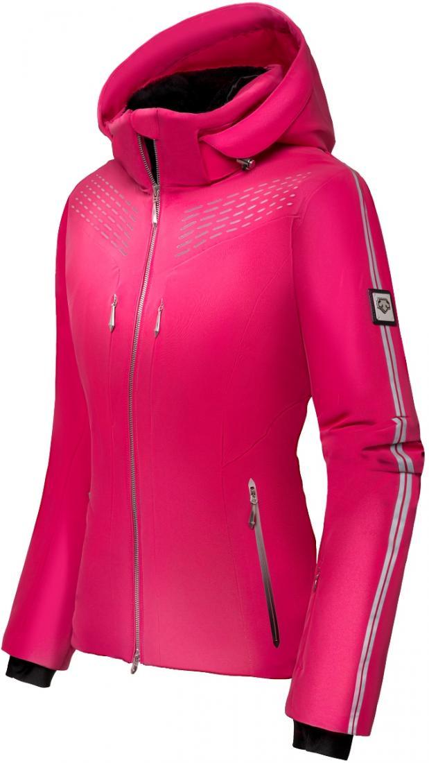 Куртка Ramsey жен.Куртки<br>Очень удобная и универсальная куртка с высшей степенью водоотталкивающих и паропроницаемых свойств из 3-х слойного, стрейчевого материала. <br>Приталенный силуэт и четкие, утонченные линии позволяют использовать куртку Ramsey как на горнолыжных склонах, так...<br><br>Цвет: Розовый<br>Размер: 42