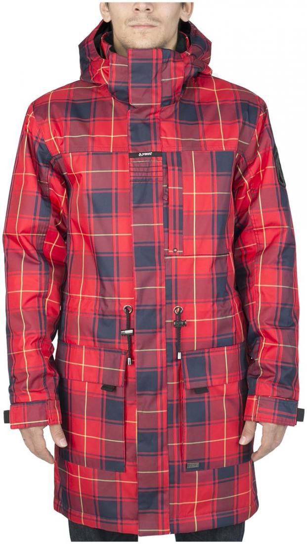 Куртка утепленная KronikКуртки<br><br> Утепленный городской плащ с полным набором характеристик сноубордической куртки. Функциональная снежная юбка, регулируемые манжеты п...<br><br>Цвет: Красный<br>Размер: 56
