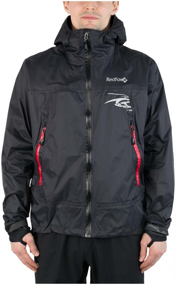 Куртка ветрозащитная Trek IIКуртки<br><br><br> Легкая влаго-ветрозащитная куртка для использованияв ветреную или...<br><br>Цвет: Черный<br>Размер: 48
