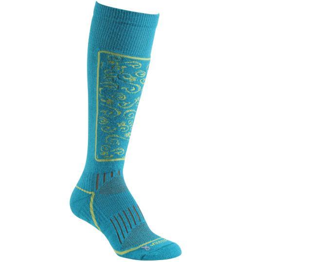 Носки лыжные жен.5509 HeavenlyНоски<br><br><br>Цвет: Голубой<br>Размер: L