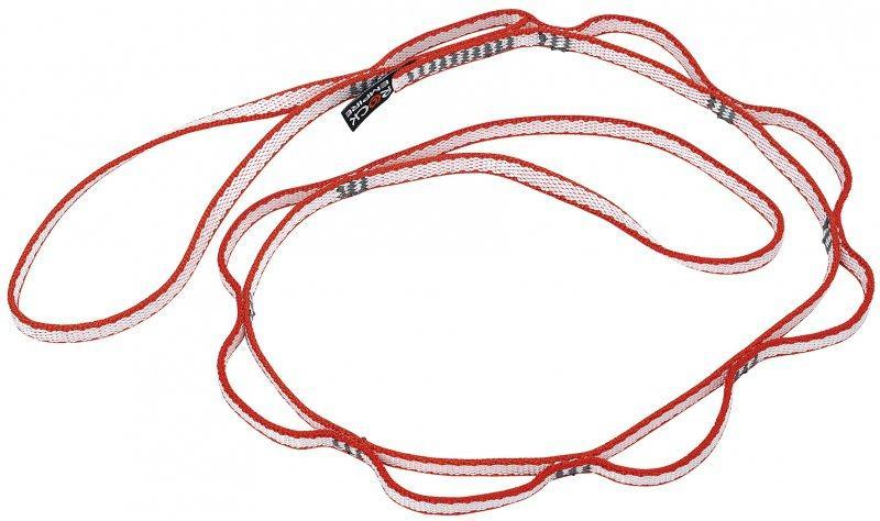 Оттяжки DYNEEMA 10 длинныеОттяжки, петли, самостраховки<br>Оттяжки длинные из материала DYNEEMA<br><br>Материал: Dyneema<br>Ширина:10 мм<br>Длина:31, 60, 80, 120, 150, 180, 240 см<br>Нагрузка:  22 kN<br>Стандарт: EN ...<br><br>Цвет: Желтый<br>Размер: 150