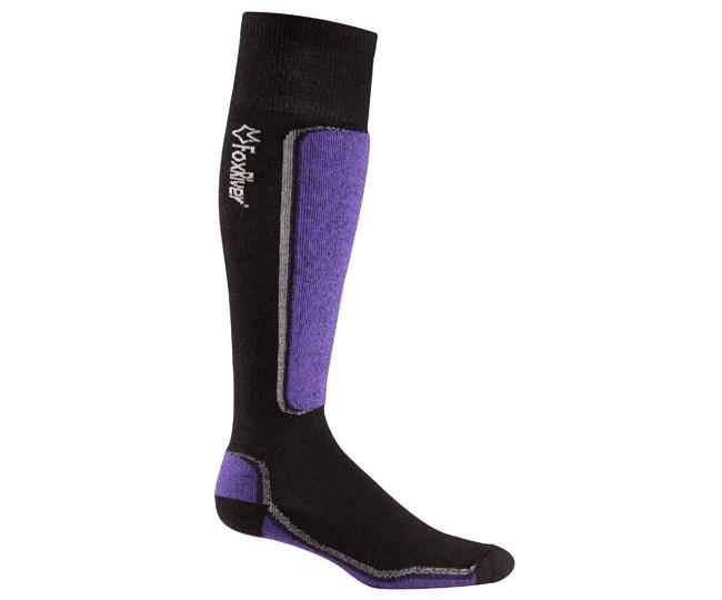 Носки лыжные 5998 VVS MV SKIНоски<br><br> Сочетание роскошных натуральных волокон мериносовой шерсти и шелка обеспечивают анатомическую посадку и удобство при катание со склонов. Натуральные волокна естественным образом отводят влагу, сохраняя ноги в тепле и комфорте. Что может быть лучше?...<br><br>Цвет: Темно-фиолетовый<br>Размер: L