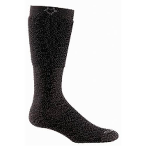 Носки туристические 2443 CuffSox® LowНоски<br><br> Революционная технология носка CuffSox® с запатентованным вторым манжетом, который одевается поверх ботинка и защищает его от истирания, грязи, мелкого грунта, камней и различных повреждений.<br><br><br>Уникальная система посадки URfit™...<br><br>Цвет: Черный<br>Размер: L