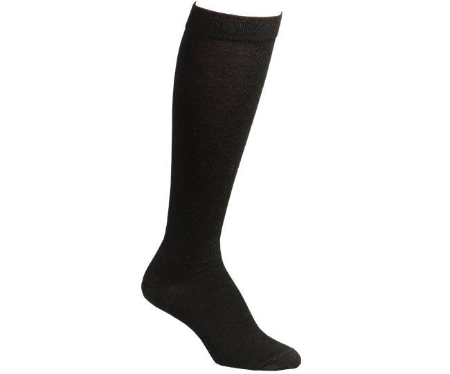 Носки повседневные жен.4516 KNEE-HIGHНоски<br><br> Классические носки до колена. Специальная конструкция вязки Memory-Knit позволяет носку более плотно облегать ногу и сохранять свою форму после многократных стирок. Особо мягкая мериносовая шерсть создает естественный комфорт и отводит влагу.<br>...<br><br>Цвет: Черный<br>Размер: L