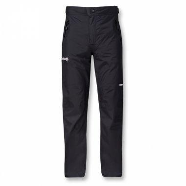 Брюки ветрозащитные Rain Fox II GTXБрюки, штаны<br><br> Легкие и компактные штормовые брюки-самосбросы из серия Nordic Style.  <br> <br><br>Материал –  сверхлегкая мембранная ткань GORE-TEX® Paclite.<br> <br>Посадка – Regular Fit.<br>Анатомический крой колена. <br>...<br><br>Цвет: Черный<br>Размер: 56