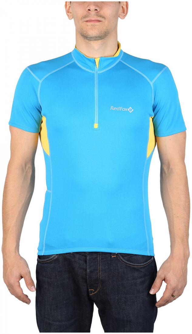 Футболка Trail T SS МужскаяФутболки, поло<br><br> Легкая и функциональная футболка с коротким рукавом из материала с высокими влагоотводящими показателями. Может использоваться в качестве базового слоя в холодную погоду или верхнего слоя во время активных занятий спортом.<br><br><br>основно...<br><br>Цвет: Голубой<br>Размер: 50