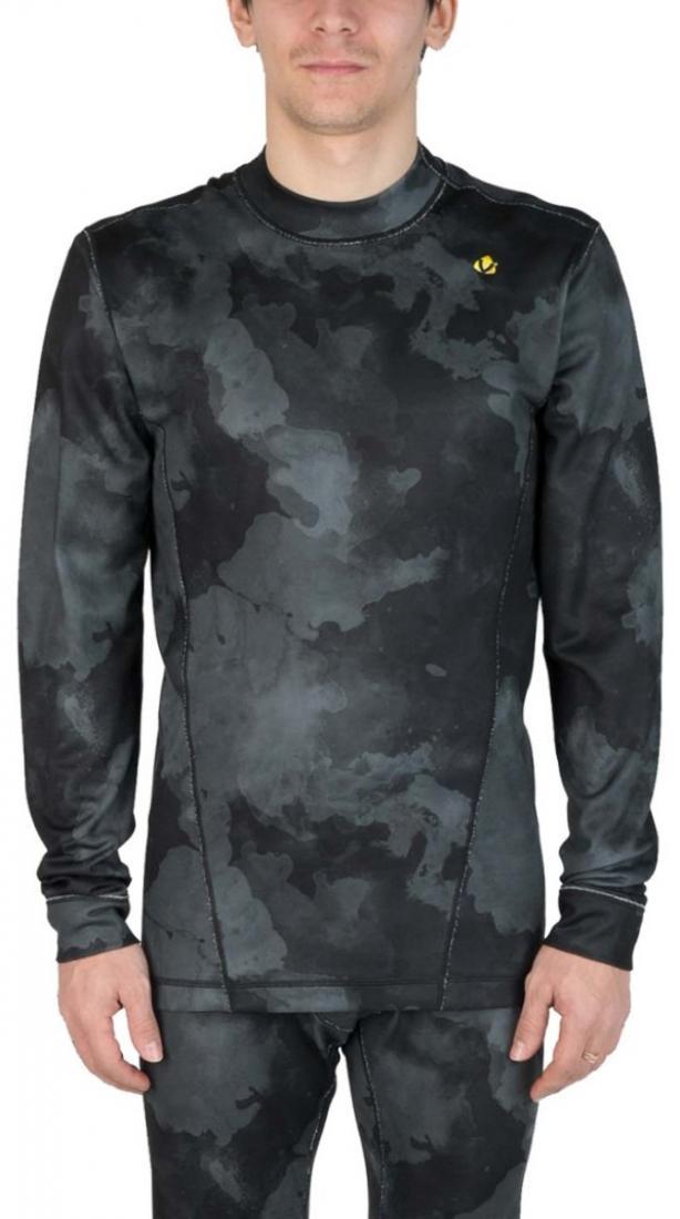Термобелье футболка Paper мужскаяФутболки<br><br> Свободный крой термобелья Virus позволяет надевать его как первым слоем, так и вторым. Но особое отличие заключается в материале DryFleece, который обладает влаговыводящими свойствами благодаря пропитке wicking.<br><br><br>Цвет: Черный<br>Размер: 48