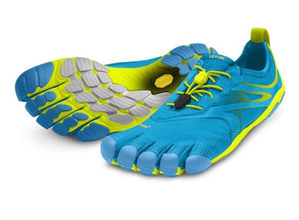 Мокасины Vibram  FIVEFINGERS BIKILA EVO MVibram FiveFingers<br><br>Средние дистанции в минималистичной обуви могут стать настоящим испытанием для новичков. Должно пройти время, прежде чем вы привыкните...<br><br>Цвет: Голубой<br>Размер: 43
