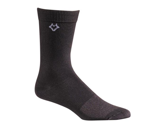 Носки повседневные 4202 X-Static? XpanseНоски<br>Тонкие носки. Благодаря уникальной системе переплетения волокон Wick Dry®, влага быстро испаряется с поверхности кожи, сохраняя ноги в комфорте. Высокоэффективный нейлон X-STATIC® с серебряным покрытием препятствует росту бактерий и грибков, вызывающих...<br><br>Цвет: Черный<br>Размер: L