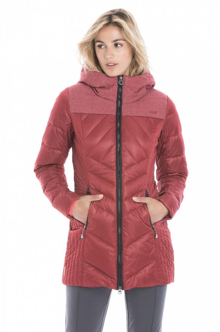 Куртка LUW0315 FAITH JACKETКуртки<br><br> Выбирайте изящное пуховое полупальто Faith для динамичных городских будней или комфортного отдыха на природе!<br><br><br><br>Контрастный цветовой дизайн создает эффектный и модный образ. <br><br>Стеганный дизайн и приталенный силуэт мо...<br><br>Цвет: Красный<br>Размер: L