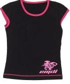 Футболка 03-1604-300 д/дев.Футболки, поло<br><br> Футболка для девочек EMDI выполнена из качественного износостойкого материала. Она хорошо садится по фигуре, не стесняет движений и отличается яркой запоминающейся расцветкой.<br><br>Характеристики футболки EMDI:<br><br>Материал:&/...