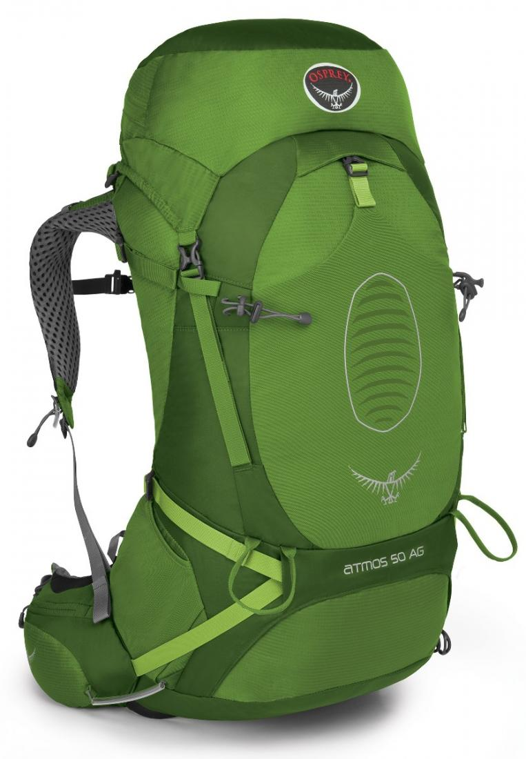 Osprey Рюкзак Atmos AG 50 (L, Absinthe Green, ,) osprey переноска poco ag seaside blue