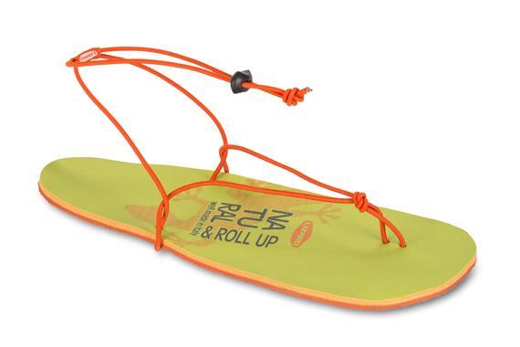 Сандали ROLL UPСандалии<br><br><br><br> Особенности:   <br><br>Вес – 100 г. <br>Низкопрофильная подошва. <br>Материалы подошвы – резиновая подошва Lizard Grip. <br>Анатомическая форма носка, позволяющая сохранять естественное поло...<br><br>Цвет: Оранжевый<br>Размер: 45