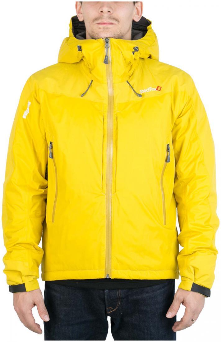 Куртка пуховая KarakorumОдежда<br>Самая теплая пуховая куртка для альпинизма в коллекции mountain Sport. Выполнена из сверхлегкого и прочного материала с применением пуха высокого качества (F.P 650+). Пухоудерживающая конструкция без использования сквозных швов, малый вес изделия и высока...<br><br>Цвет (гамма): Оранжевый<br>Размер: 56