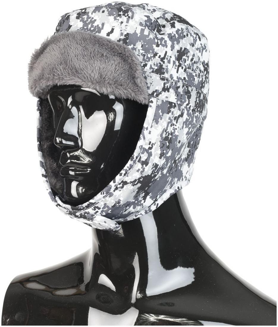 Шапка HEADWALL TYROLШапки<br>Шапка ушанка, которая позволит чувствовать себя комфортно в любой ситуации.<br><br><br>Шапка сделана из водо-, ветро-, снего- защитного материала.<br>утеплитель - 70g Thinsulate, обеспечивает тепло в любых условиях<br>застежки-ли...<br><br>Цвет: Белый<br>Размер: L-XL