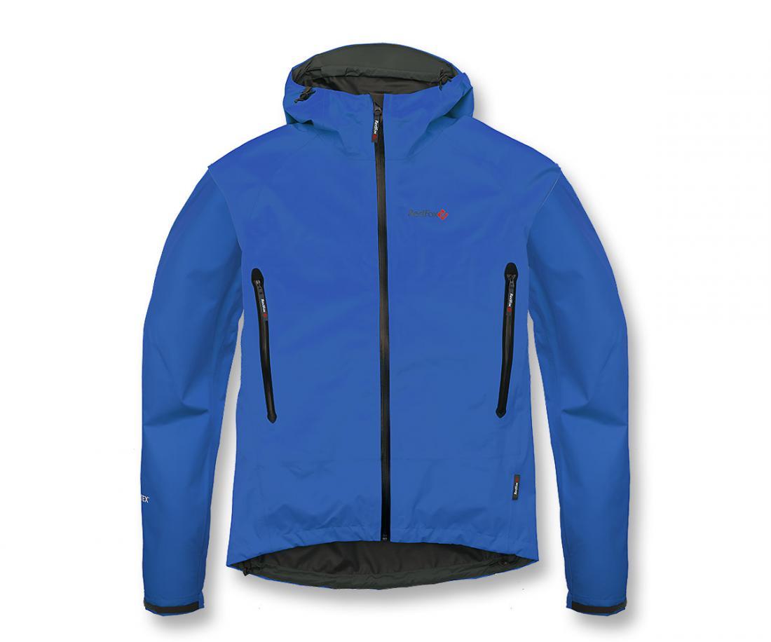 Куртка ветрозащитная Rain Fox Light GTXКуртки<br><br> Легкая штормовая куртка с капюшоном из серии Trekking идеальна в ветреную и дождливую погоду. Гарантию непромокаемости обеспечивает матер...<br><br>Цвет: Синий<br>Размер: 44