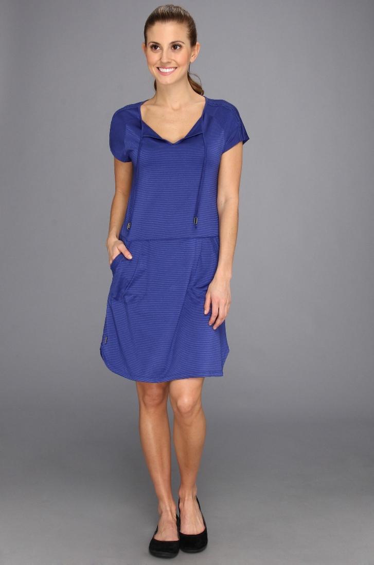 Платье LSW0987 ENERGIC DRESSПлатья<br><br> Energic Dress LSW0987 – платье с необыкновенным кроем, созданное брендом Lole для энергичных девушек. Вы можете использовать его в качестве спорти...<br><br>Цвет: Синий<br>Размер: S