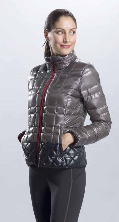 Куртка LUW0186 CHILLY JACKETКуртки<br><br><br>Цвет: Серый<br>Размер: L