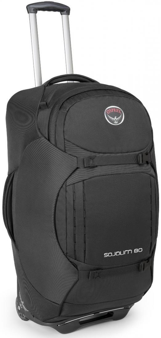 Osprey Сумка-рюкзак на колёсах SoJourn 80 (, Nitro Green, , ,)