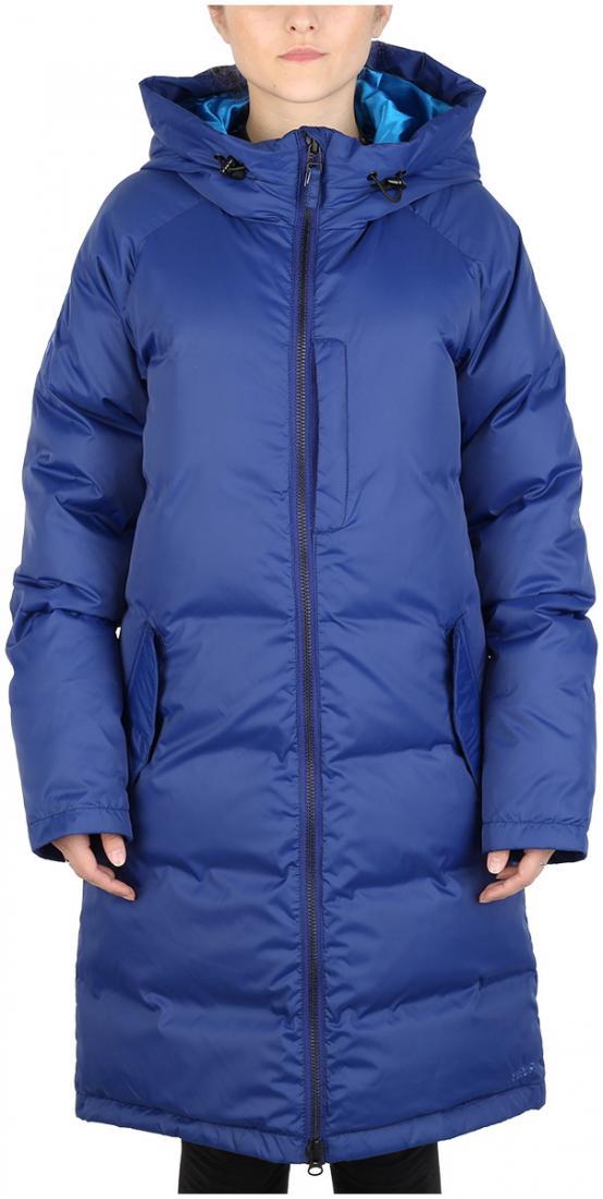 Куртка пуховая Caddy женскаяКуртки<br><br><br>Цвет: Синий<br>Размер: 46
