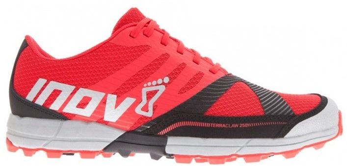 Inov-8 Кроссовки Terraclaw 250 муж. (7.5, Red/Black/Grey, ,) inov 8 футболка base elite lsz w xl barberry