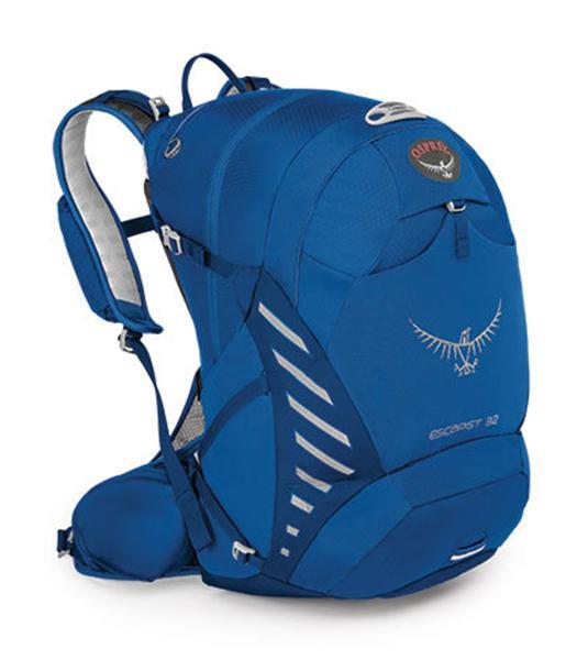 Рюкзак Escapist 32Туристические, треккинговые<br><br> Если после утомительного дня езды на велосипеде по лесным тропам, вы с радостью понимаете, что это еще не конец маршрута, то ваш выбор - Es...<br><br>Цвет: Синий<br>Размер: 30 л