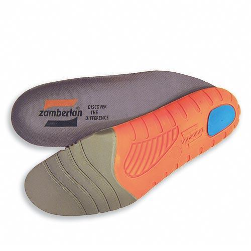 Стелька 3-ACTIONСтельки<br>Разработанные по эксклюзивным образцам Zamberlan® и обладающие анатомической формой, эти стельки обеспечивают идеальную посадку, соответствующую анатомическим особенностям ноги, смягчают удары пятки, сокращают усталость мышц и обеспечивают свободу движени...<br><br>Цвет: Серый<br>Размер: 38