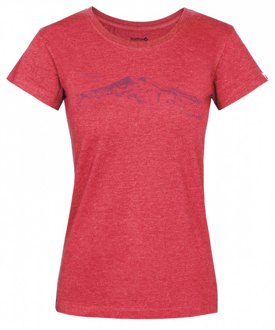 Red Fox Футболка Mountain T SS Женская (L, 7000/св.серый, , ,) футболка element basic crew ss f barn red