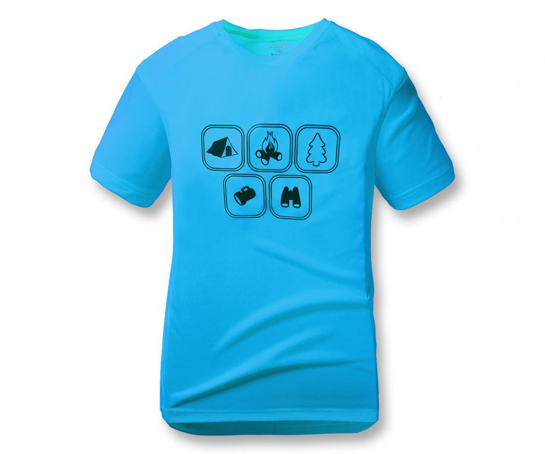 Футболка Symbol TФутболки, поло<br><br><br>Цвет: Голубой<br>Размер: 60
