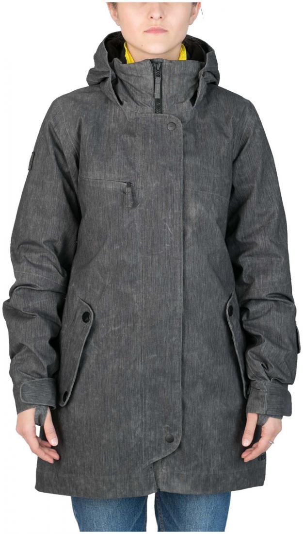 Куртка пуховая Flip WКуртки<br>Модель Flip W - это две куртки, которые по отдельности представляют собой теплую пуховку и легкую парку из ваксовой джинсы, а вместе это непр...<br><br>Цвет: Черный<br>Размер: 48