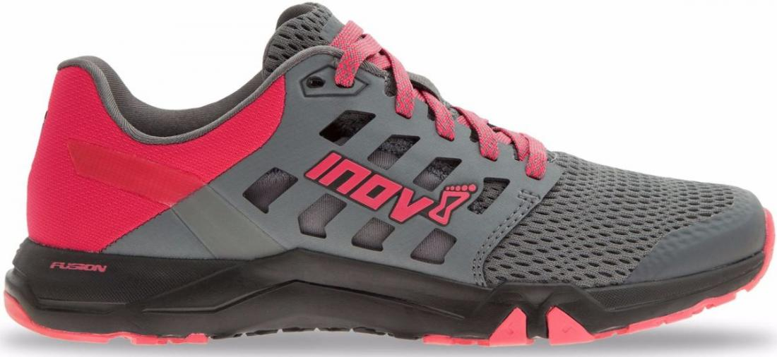 Inov-8 Кроссовки Alltrain 215 жен. (3.5, Grey/Pink/Black, , ,) inov 8 брюки at c tight w l black