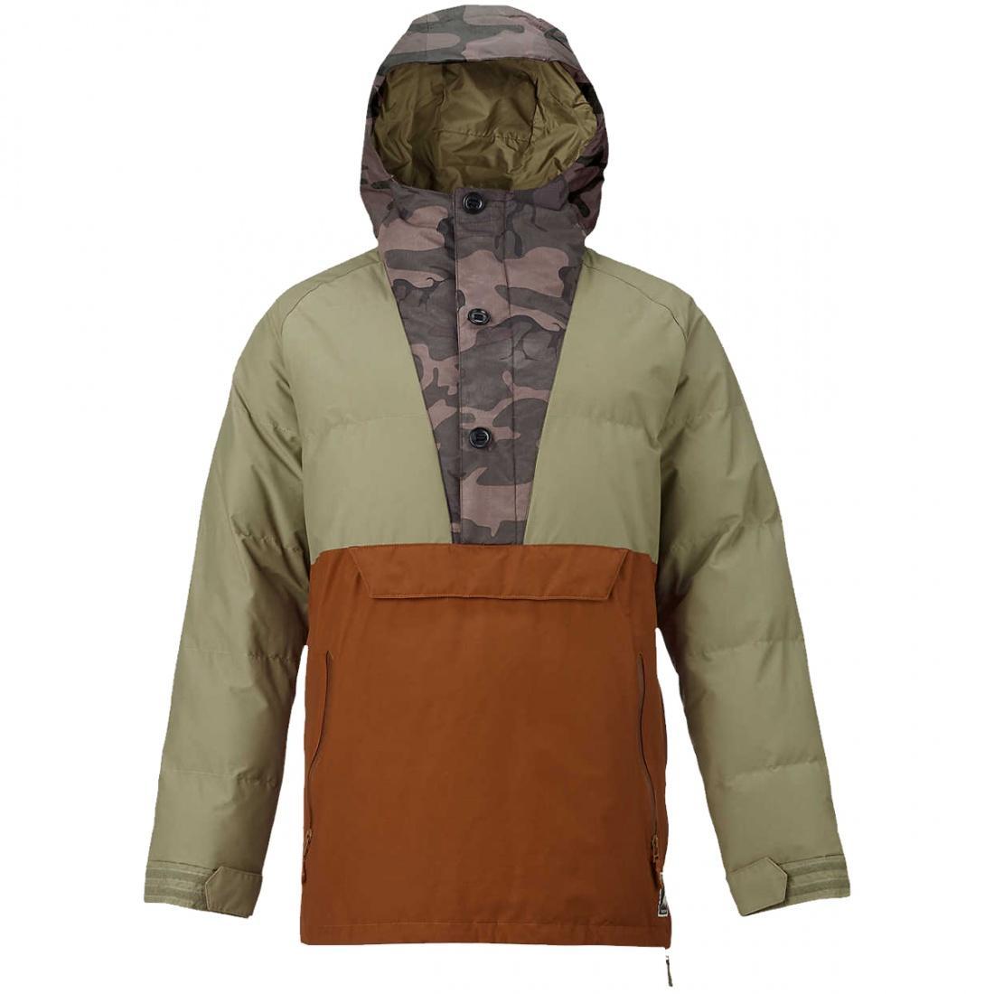 Куртка MB SERVICE ANORAKКуртки<br><br>Верхняя ткань: двухслойная мембранная ткань DRYRIDE Durashell Blocked Printed Polyester Plain Weave и Solid Nylon Plain Weave с показателями 10000 мм/25000 г/м2<br>Подклад: т...<br><br>Цвет: Хаки<br>Размер: M