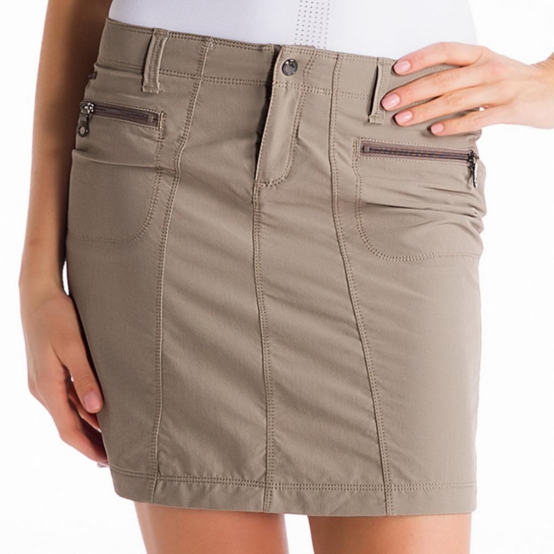 Юбка LSW1015 MILAN SKIRTЮбки<br><br> Строгий крой и элегантность юбки Lole Milan Skirt  LSW1015 отлично сочетаются с ее практичностью и функциональностью. Она выполнена из прочной износостойкой немнущейся ткани с великолепными дышащими и впитывающими свойствами, что делает ее идеальны...<br><br>Цвет: Серый<br>Размер: 2