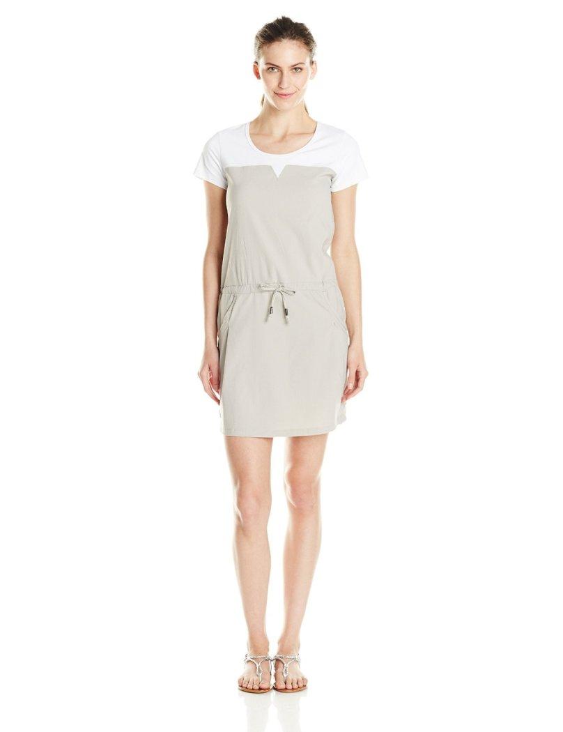 Платье LSW1295 MALENA DRESSПлатья<br><br> Легкое платье Lole Malena Dress LSW1295 с округлым вырезом представляет собой сочетание стиля и практичности. Ввиду особенностей кроя оно подчерк...<br><br>Цвет: Серый<br>Размер: L