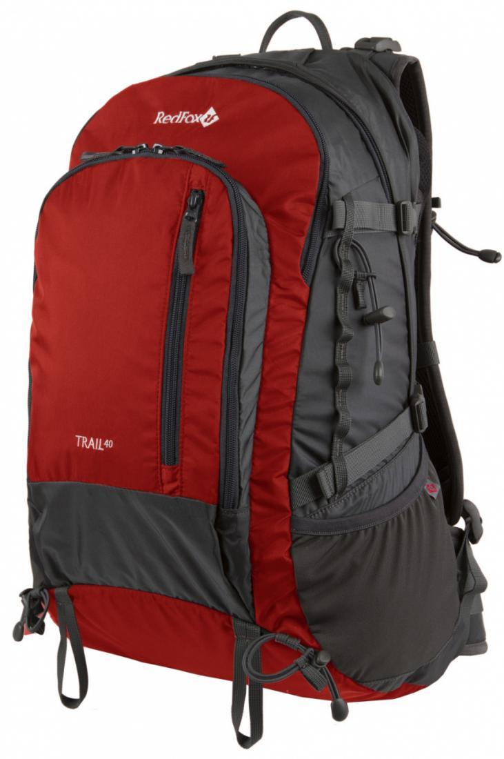 Рюкзак Trail 40Туристические, треккинговые<br>Trail 40 – практичный рюкзак для треккинга и прогулок в горах. Модель обладает достаточным объемом и всеми необходимыми элементами для пеших прогулок продолжительностью 1-2 дня.<br><br>назначение: треккинг<br>подвесная система Active<br>&lt;l...<br><br>Цвет: Черный<br>Размер: None