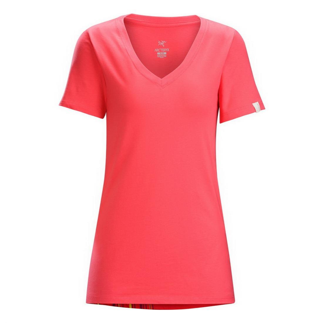 Футболка Bird Trio SS T-Shirt жен.Футболки, поло<br><br> Женская футболка Arcteryx Bird Trio с принтом, расположенным на плече и круглым вырезом изготовлена из натурального хлопка. Этот легкий, гигиен...<br><br>Цвет: Розовый<br>Размер: L