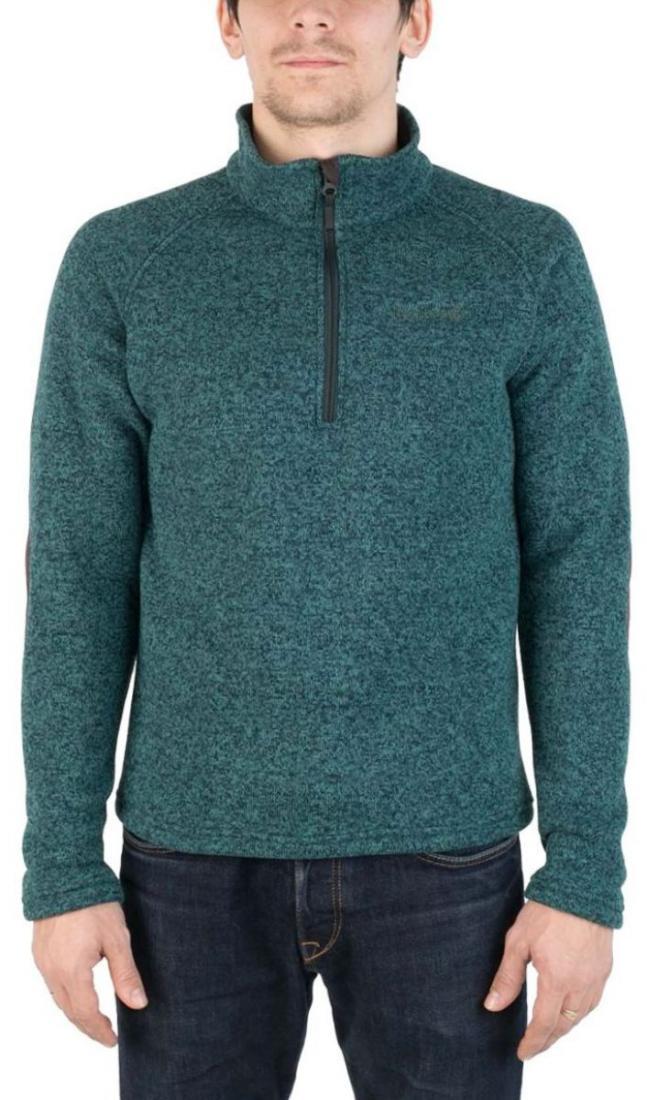 Свитер AniakСвитеры<br><br> Комфортный и практичный свитер для холодного времени года, выполненный из флисового материала с эффектом «sweater look».<br><br><br> Основные ха...<br><br>Цвет: Темно-зеленый<br>Размер: 52
