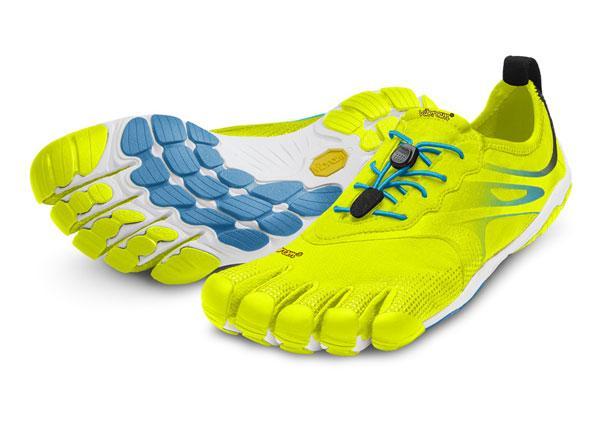 Мокасины Vibram  FIVEFINGERS BIKILA EVO MVibram FiveFingers<br><br>Средние дистанции в минималистичной обуви могут стать настоящим испытанием для новичков. Должно пройти время, прежде чем вы привыкните...<br><br>Цвет: Желтый<br>Размер: 41