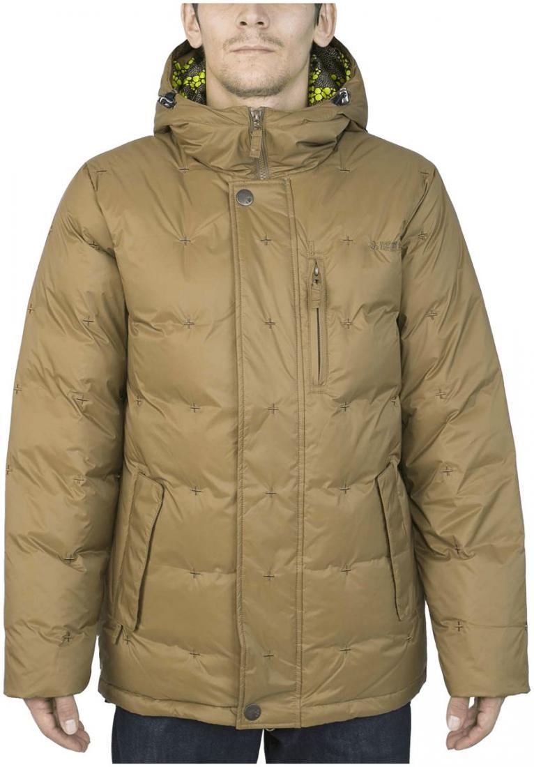 Куртка пуховая GrizzlyКуртки<br><br><br>Цвет: Коричневый<br>Размер: 46