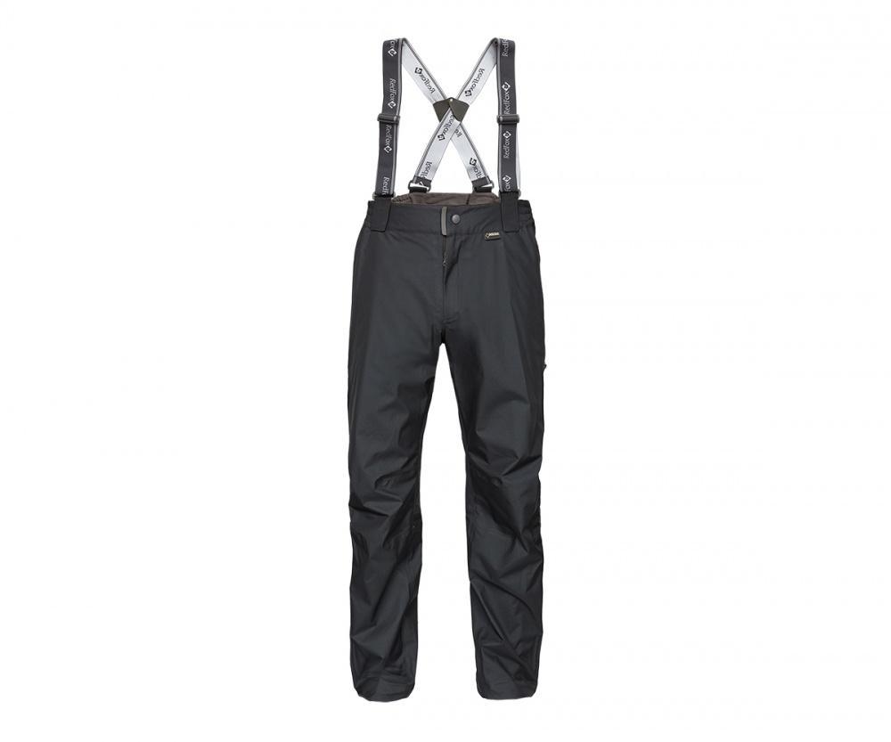 Брюки ветрозащитные Vector GTX III Мужские ЧерныйБрюки, штаны<br>Классические штормовые брюки, выполненные из материала GORE-TEX® Products. Надежно защищают от дождя и ветра, не стесняют движений, удобны для путешествий и активного отдыха.<br><br>основное назначение: Горные походы, туризм, походы<br>завышенная посадка<br>съёмные регулируемые эластичные лямки<br>боковые карманы на молнии<br>влагозащитные двухзамковые молнии до нижней трети бедра<br>анатомическая форма коленей<br>регулировка по низу брюк<br>посадка: Alpine Fit<br>материал: GORE-TEX® Products, 100% Nylon, plain weave, 30D, 100 g/sqm, 3L lamination<br>вес, г: 397 (48 размер)<br><br><br>Цвет: Черный<br>Размер: 46
