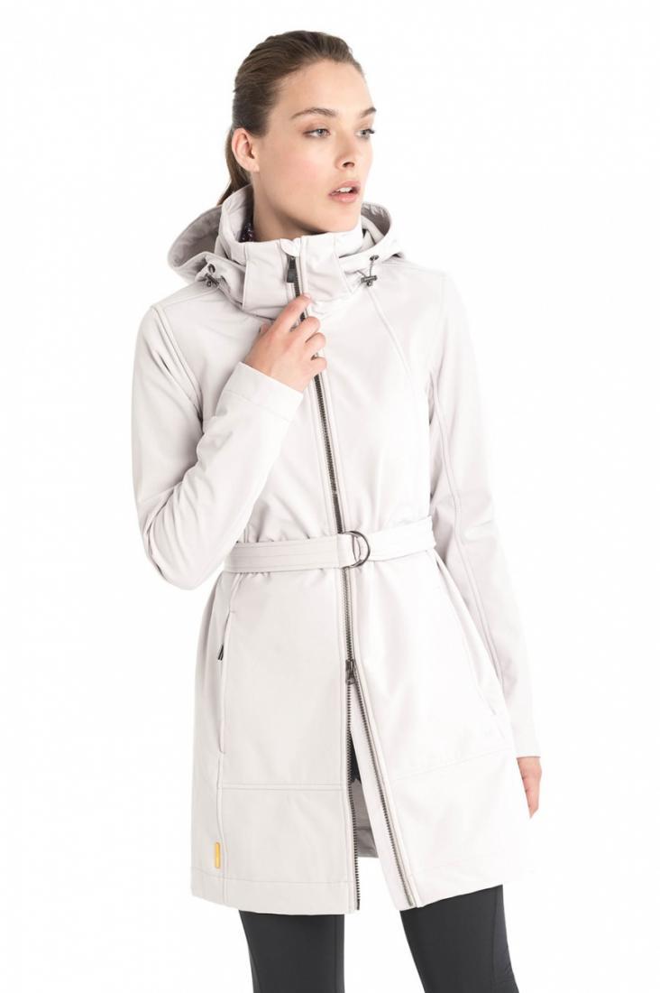 Куртка LUW0317 GLOWING JACKETКуртки<br><br> Стильное пальто Glowing из материала Softshell уютно согреет и защитит от ненастной погоды ранней весной или осенью. Приятная фактура материал...<br><br>Цвет: Белый<br>Размер: XS