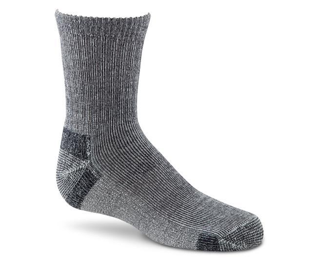 Носки детские 2900 WICK DRY HIKERНоски<br>Благодаря прекрасному сочетанию нейлона, Spandex и технологии Wick Dry®, носки плотно облегают ногу и создают максимальный комфорт.<br><br><br>Ле...<br><br>Цвет: Темно-серый<br>Размер: S