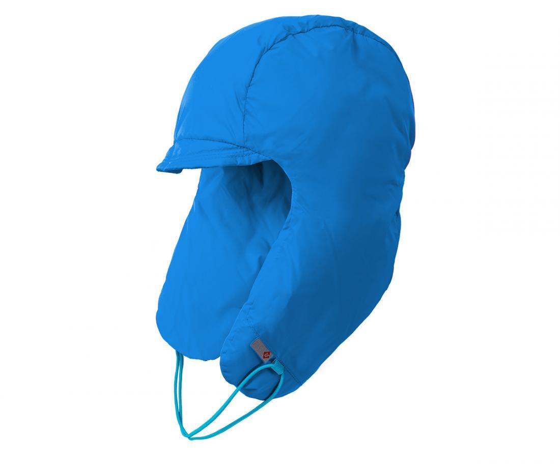 Шапка пуховая Extract ДетскаяУшанки<br><br> В экстремально теплой пуховой шапке ваш ребенок гарантированно будет чувствовать себя комфортно в самую морозную погоду.<br><br> <br><br><br><br> Материал –Nylon.<br><br> <br><br><br> Утеплитель – гусиный пух (F.P.650+).<br>&lt;/...<br><br>Цвет: Голубой<br>Размер: L