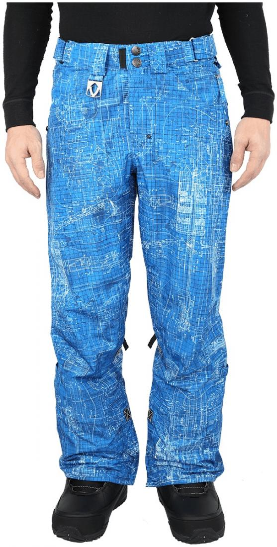 Штаны сноубордические SpreadБрюки, штаны<br><br>Легкие сноубордические штаны свободной посадки. Все строго и лаконично, без лишних деталей, отвлекающих внимание. Практически полное отсутствие декоративных элементов удачно компенсируют яркие принты, притягивающие взгляды на склоне. Штаны Spread – ...<br><br>Цвет: Синий<br>Размер: 56