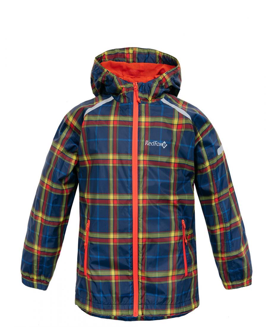 Куртка ветрозащитная Lilo II ДетскаяКуртки<br>Комфортная демисезонная куртка.Благодаря надежному мембранному материалу и проклеенным швам, не промокает и надежно защищает от ветра. Имеет удобный капюшон с регулировками по объему и глубине. Декоративная отделка также выполняет функцию светоотражающ...<br><br>Цвет: Синий<br>Размер: 98