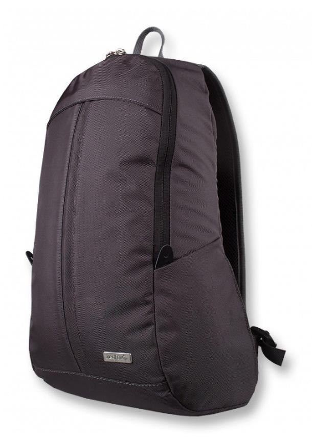 Рюкзак Polly ЖенскийРюкзаки<br><br> Рюкзак Polly – стильный женский городской рюкзак.<br><br><br>Серия Woman Line<br>Материал: Ballistic<br>Объем: 15 л<br>Вес: 400 г<br>Размер: 26х43х12 см.<br>основное отделение с двухзамковой молнией со...<br><br>Цвет: Серый<br>Размер: 15 л
